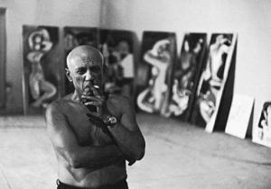 Pablo Picasso, Photo credit: Edward Quinn