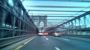 Driving Brooklyn Bridge