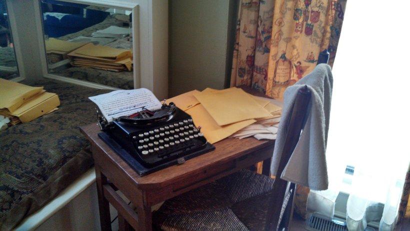 Margaret Mitchell's desk