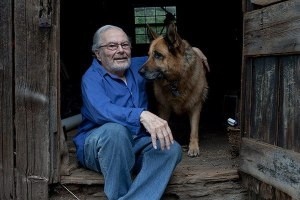 Maurice Sendak and Herman (photo by Tim Knox)