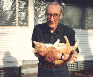 William S. Burroughs and Ginger