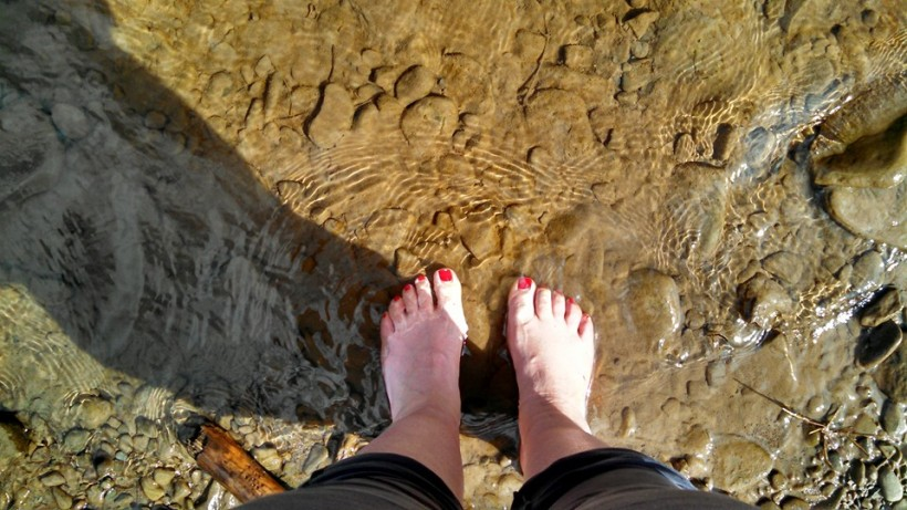 Creek feet