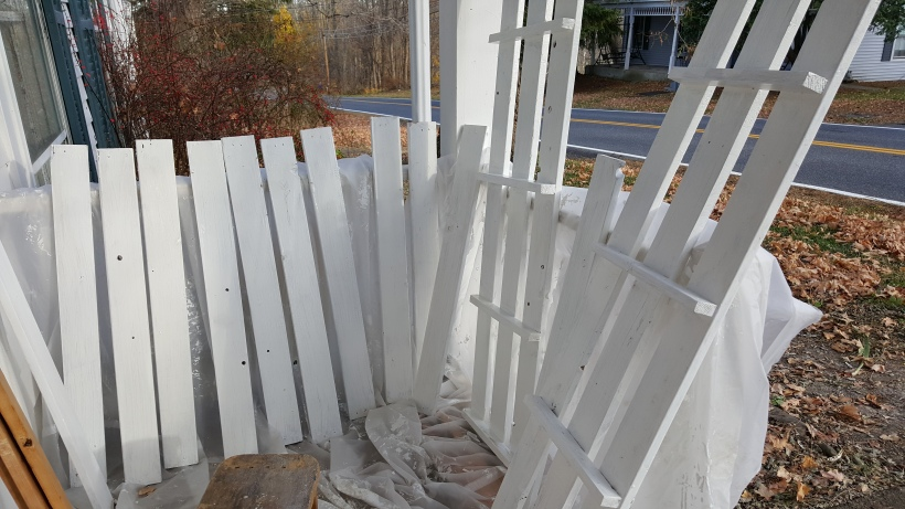 painted slats