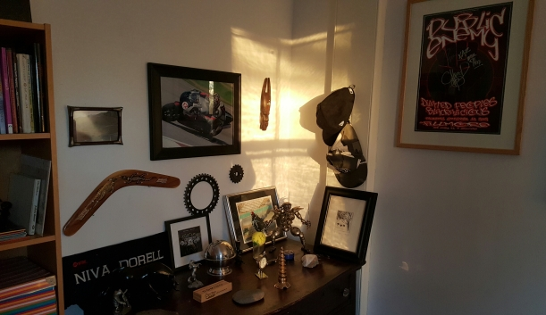 Kaz's corner in morning light